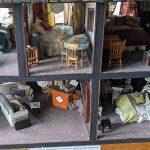 Andiron doll house