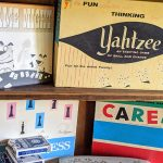 Vintage board game collection
