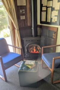 William & Mildred Suite fireplace